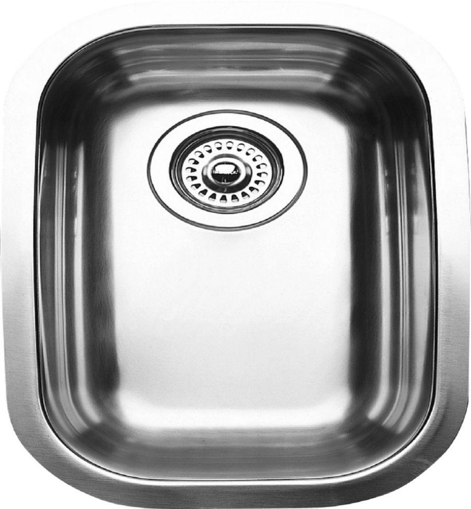 1/2 Bowl Undermount Stainless Steel Kitchen Sink