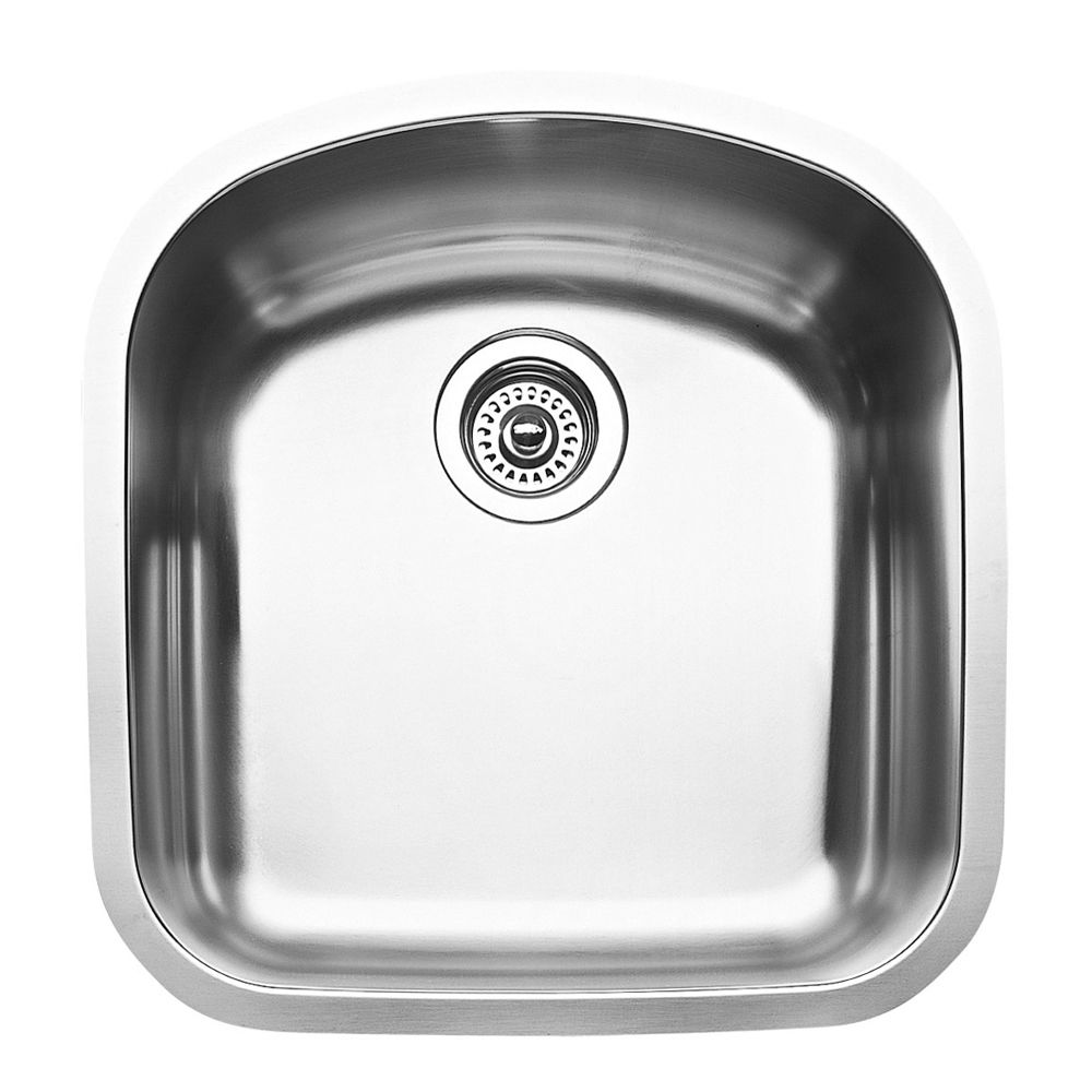 Single Bowl Undermount Stainless Steel Kitchen Sink