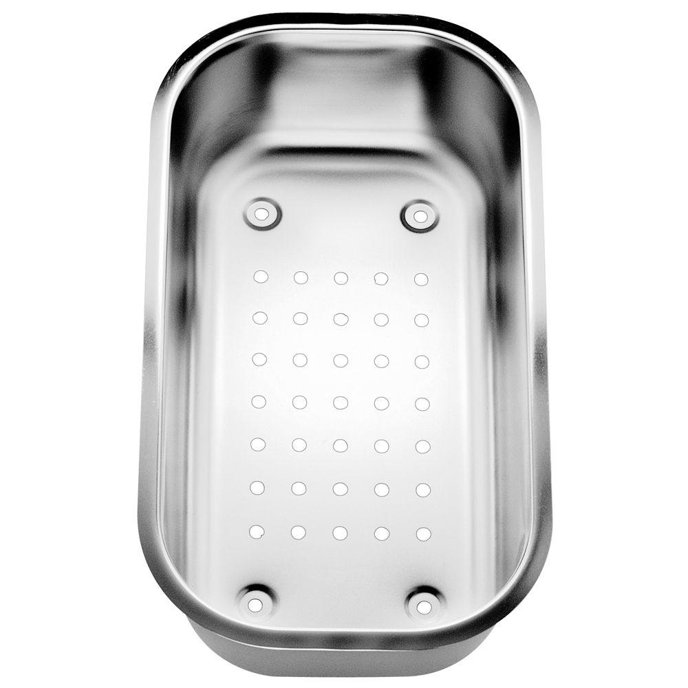 Passoire ovale BlancoMD en acier inoxydable