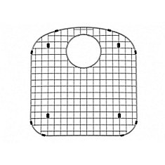 Custom-Fitted Stainless Steel Sink Grids