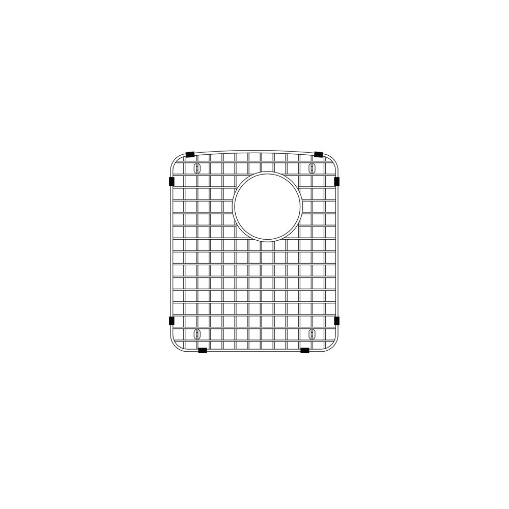 Blanco Precision 9 Sink Grid, Stainless Steel