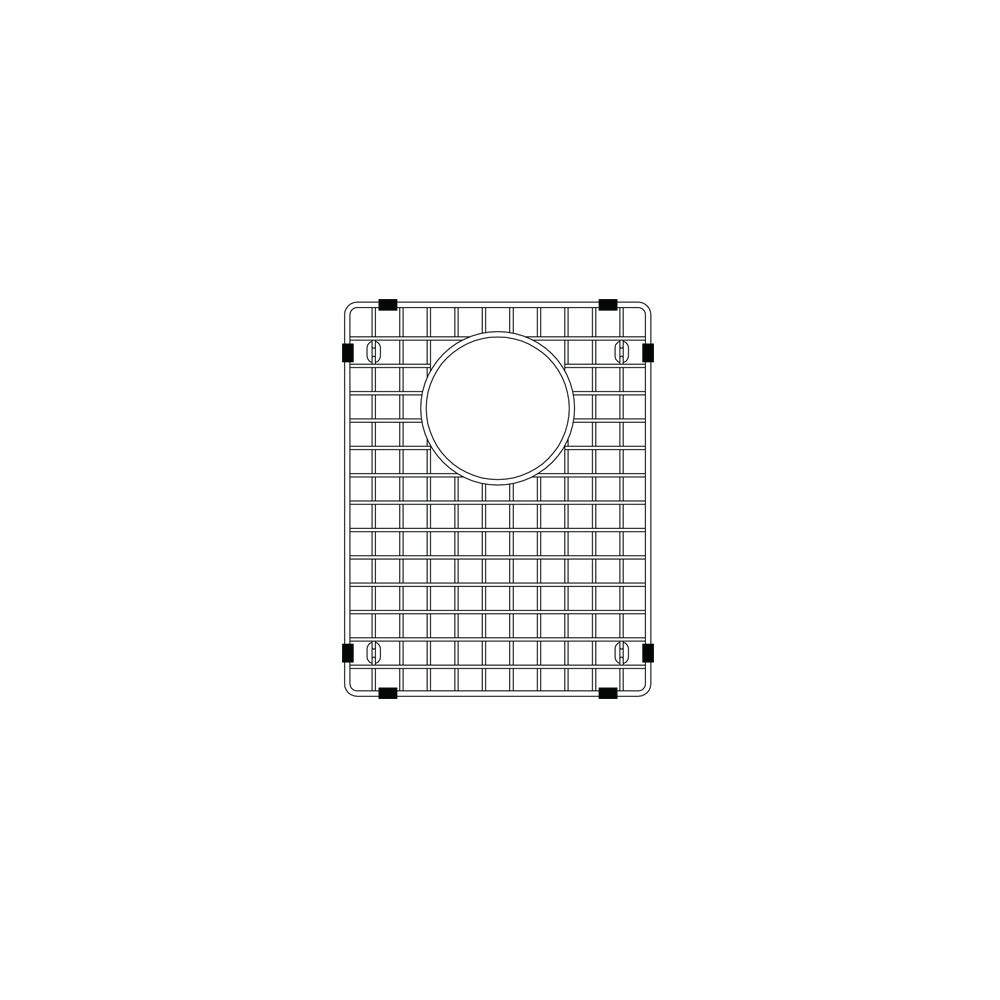 Blanco Precis Sink Grid Sm, Stainless Steel