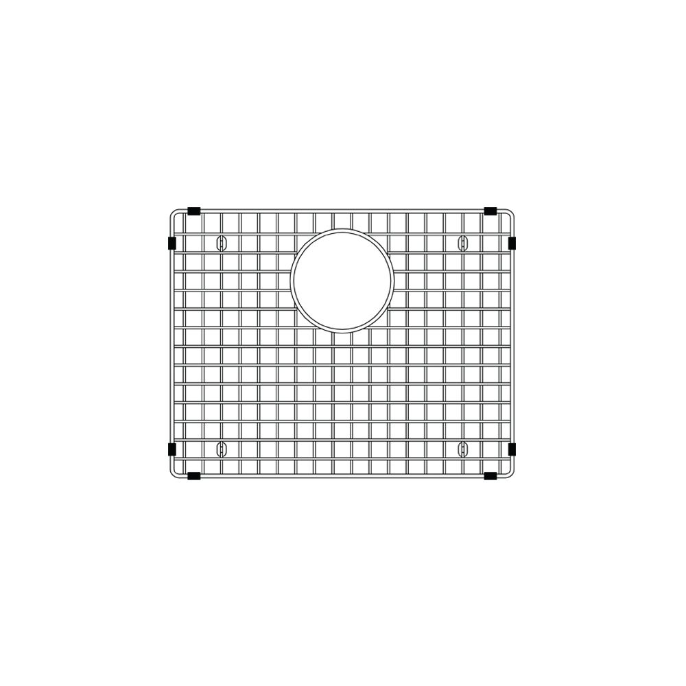 Blanco Precis Sink Grid Lg, Stainless Steel