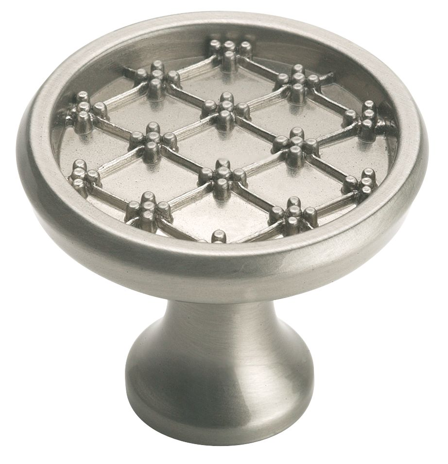 Amerock Patterns knob - French provincial, 1-3/8 In. diameter