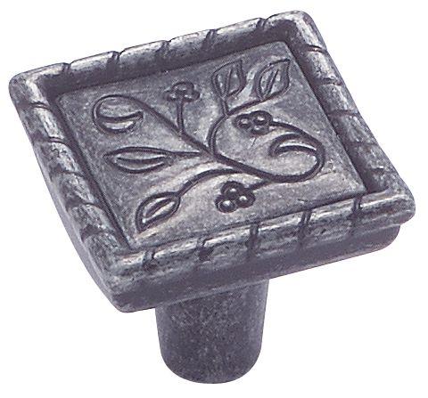 Vineyard knob - crescent, 1-1/8 In. sq diameter