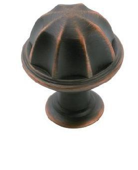 Bouton Diamètre de 1 po EYDON� Collection- FINI BRONZE POLI À L'HUILE