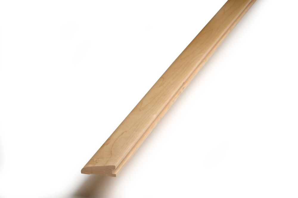 Reducer Hard Maple S&B Natural 3/4 in. x 2 1/4 in. x 78 in.