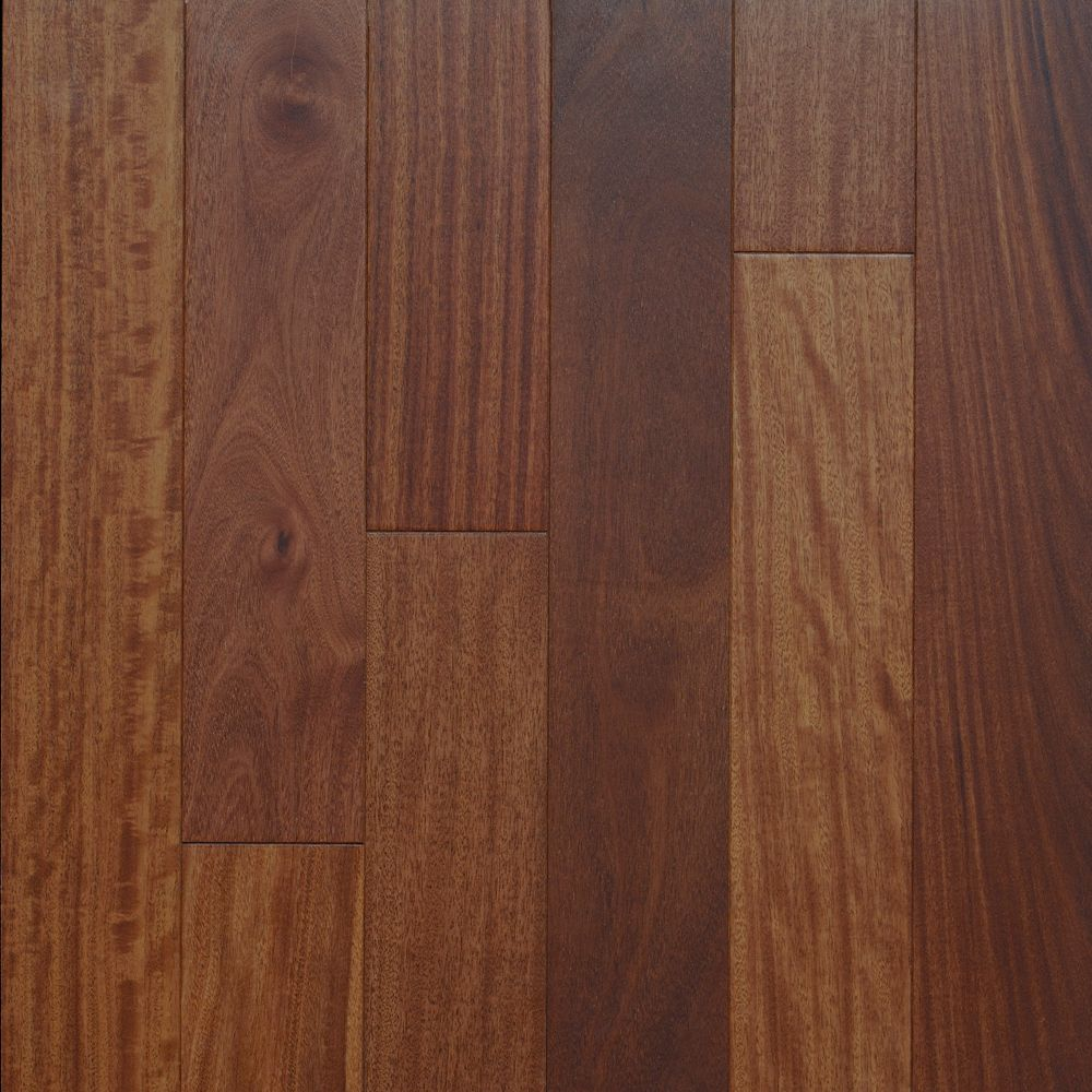 Santos Mahogany Matte 3 1/4-inch Engineered Hardwood Flooring