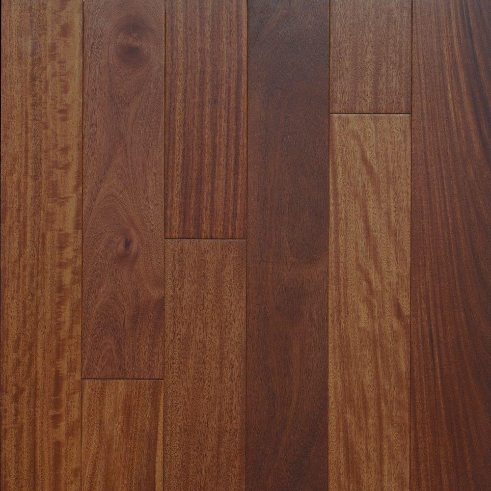 Santos Mahogany Matte 3 1/4-inch Engineered Hardwood Flooring