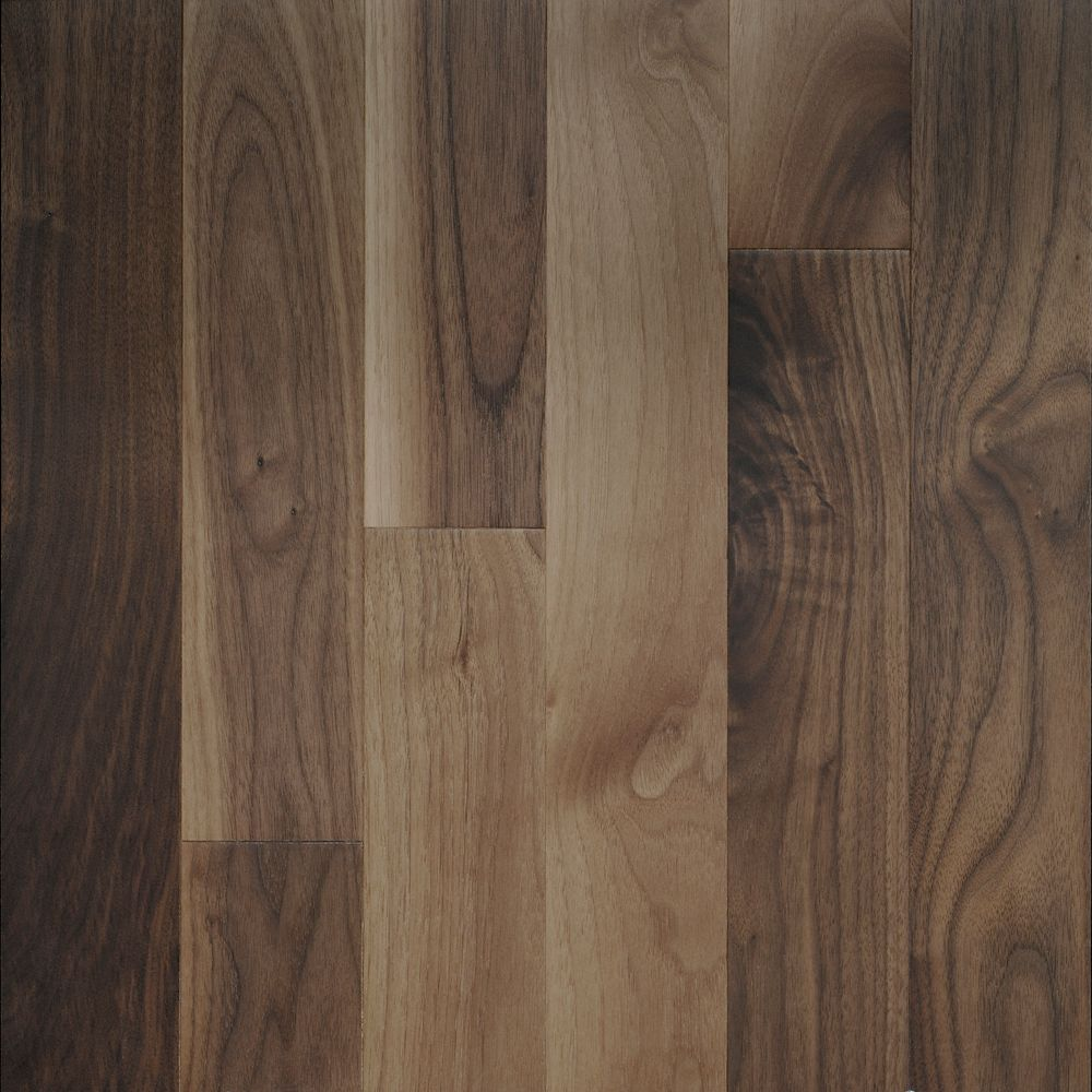 Black Walnut Matte 3 1/4-inch Engineered Hardwood Flooring