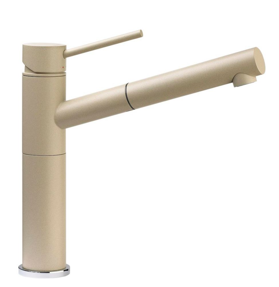Single Lever, Pull-Out Faucet, Silgranit Biscotti