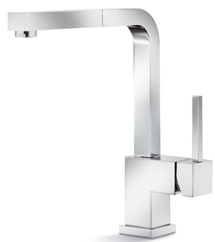 Premium Kitchen Faucet, Pull-Out Spout, Stainless Steel Finish