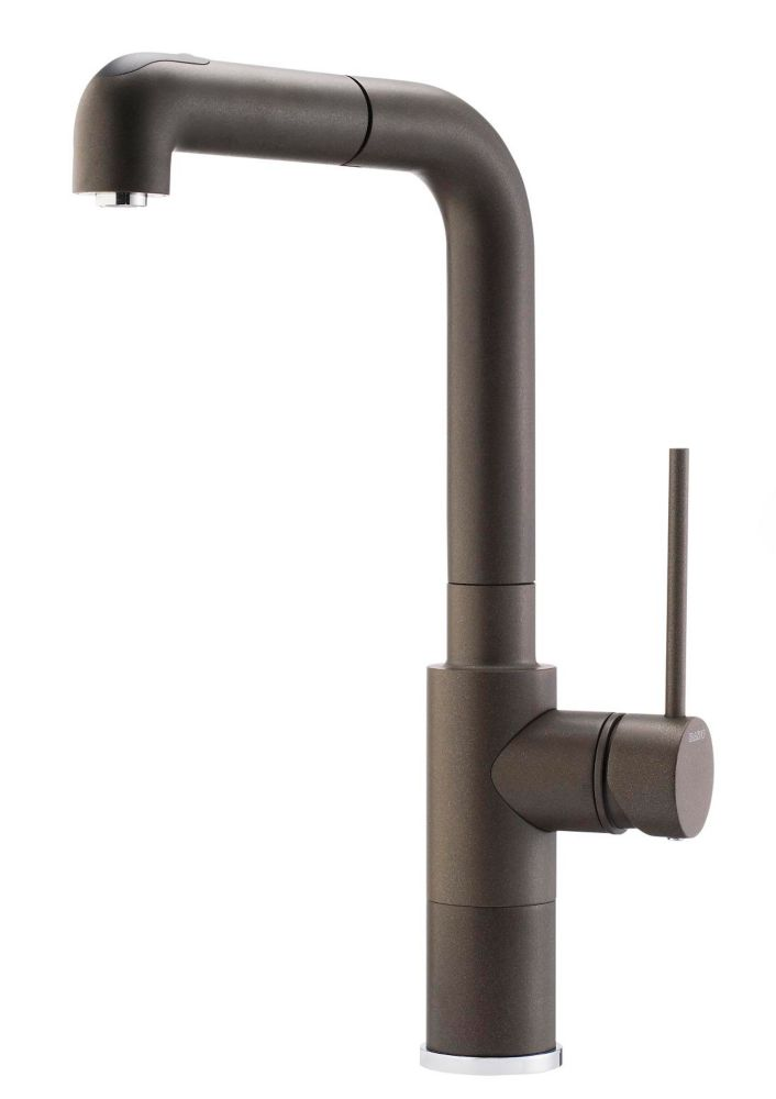 Premium Kitchen Faucet, Pull-Out Spray, Silgranit Bronzed Café