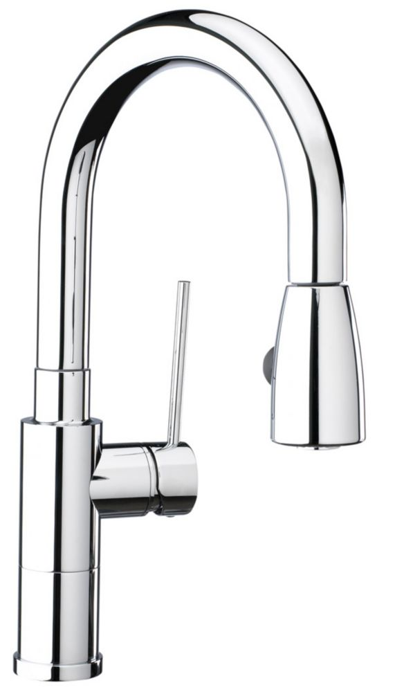 Premium Kitchen Faucet, Pull-Down, Stainless Steel
