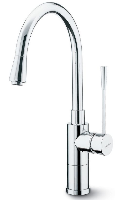 Premium Kitchen Faucet, Pull-Down, Stainless Steel Finish