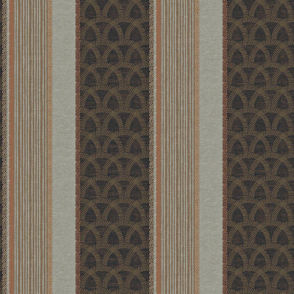 the wallpaper company papier peint 20 5 bandes brunes home depot canada. Black Bedroom Furniture Sets. Home Design Ideas