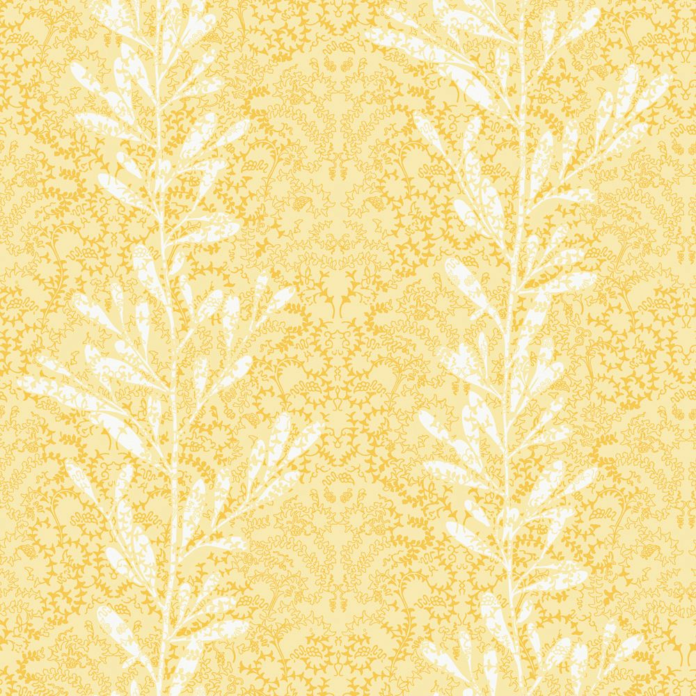 The wallpaper company 20 5 in w yellow vertical stripe of for Home depot wallpaper