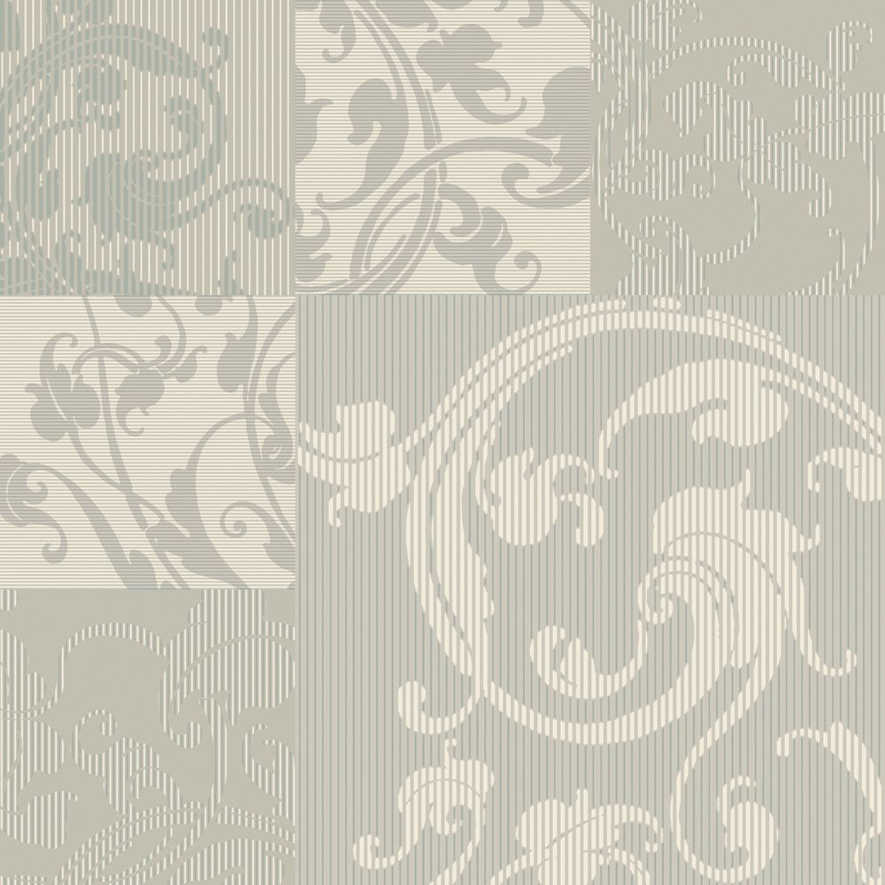 the wallpaper company papier peint 20 5 beige neutre avec arabesque the home depot canada. Black Bedroom Furniture Sets. Home Design Ideas