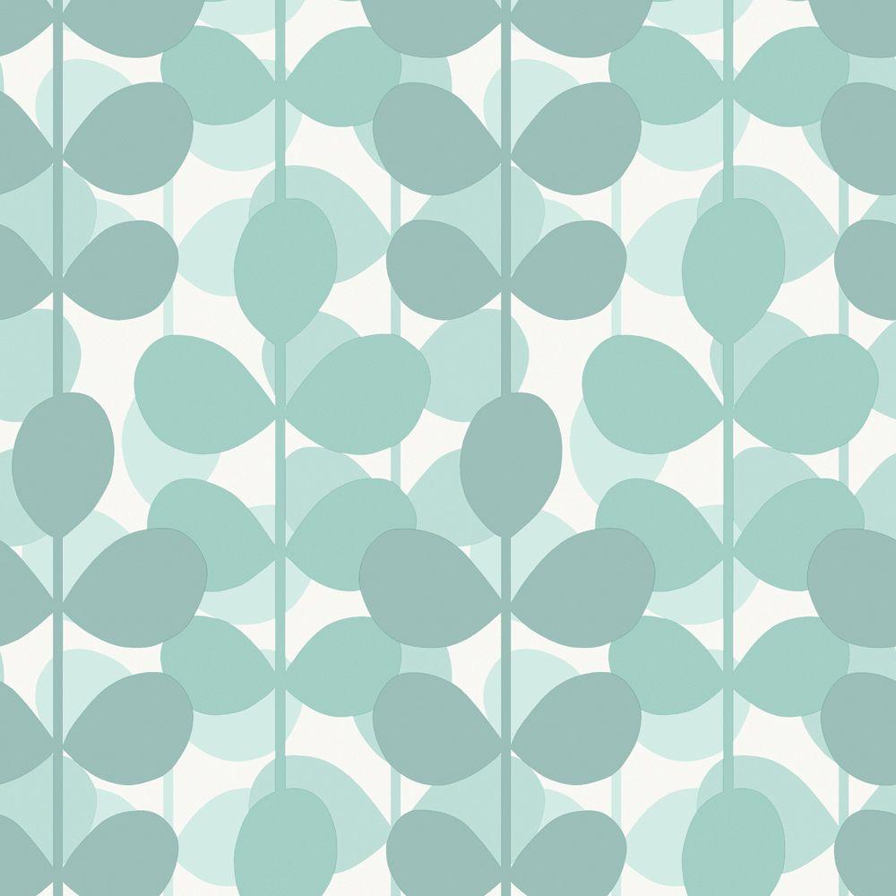 Papier peint 20 5 nouvelle tendance bleu for Wallpaper home depot canada