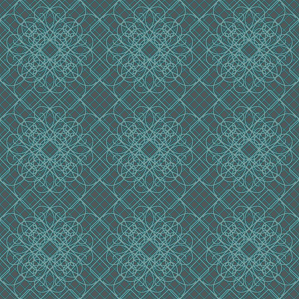 Flora grey wallpaper 32 445 canada discount for Discount wallpaper canada