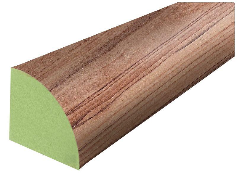 Stratifié Quart-de-rond bois dolivier Rosea - 238 cm (94 po)