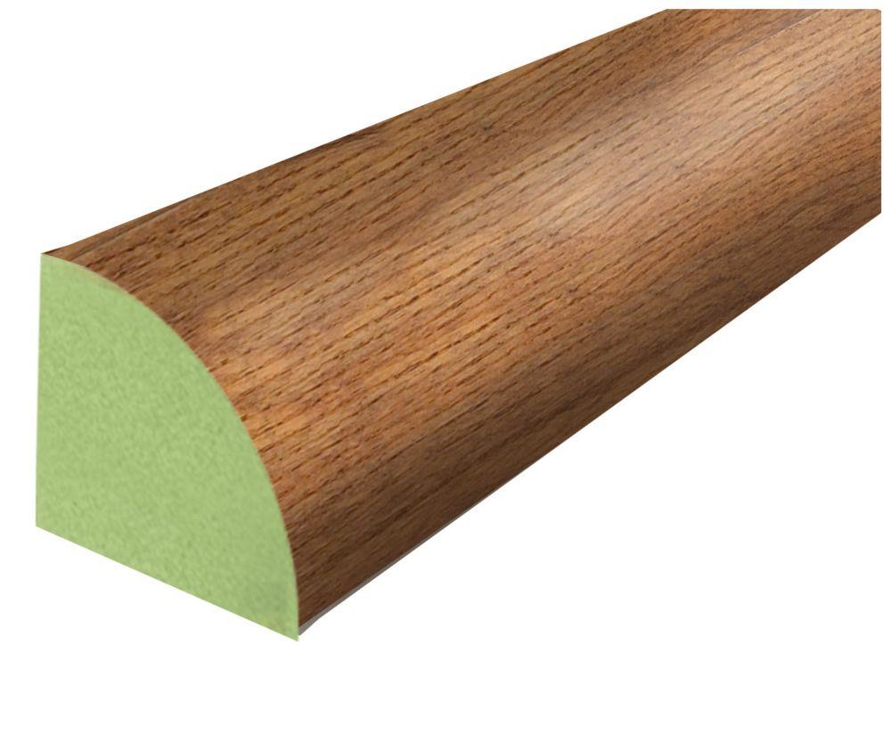 Stratifié Quart-de-rond chêne Gunstock de Montréal - 238 cm (94 po)