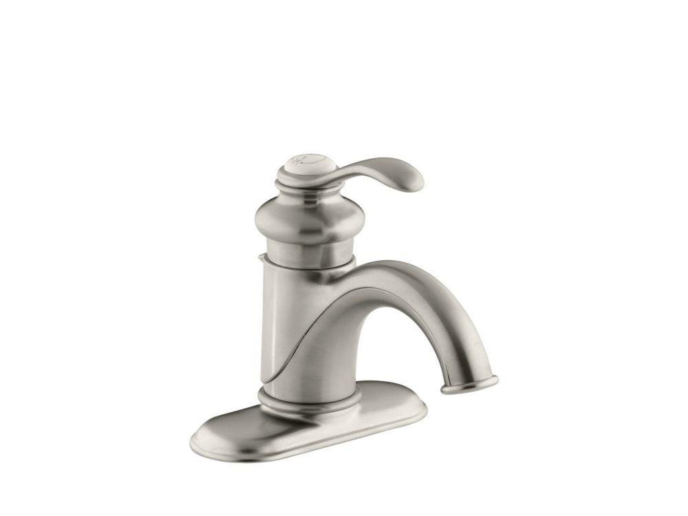 Fairfax Single-Control Bathroom Faucet in Vibrant Brushed Nickel Finish