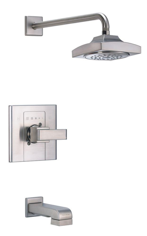 Baignoire et garniture de la douche Arzo Monitor Scald-Guard