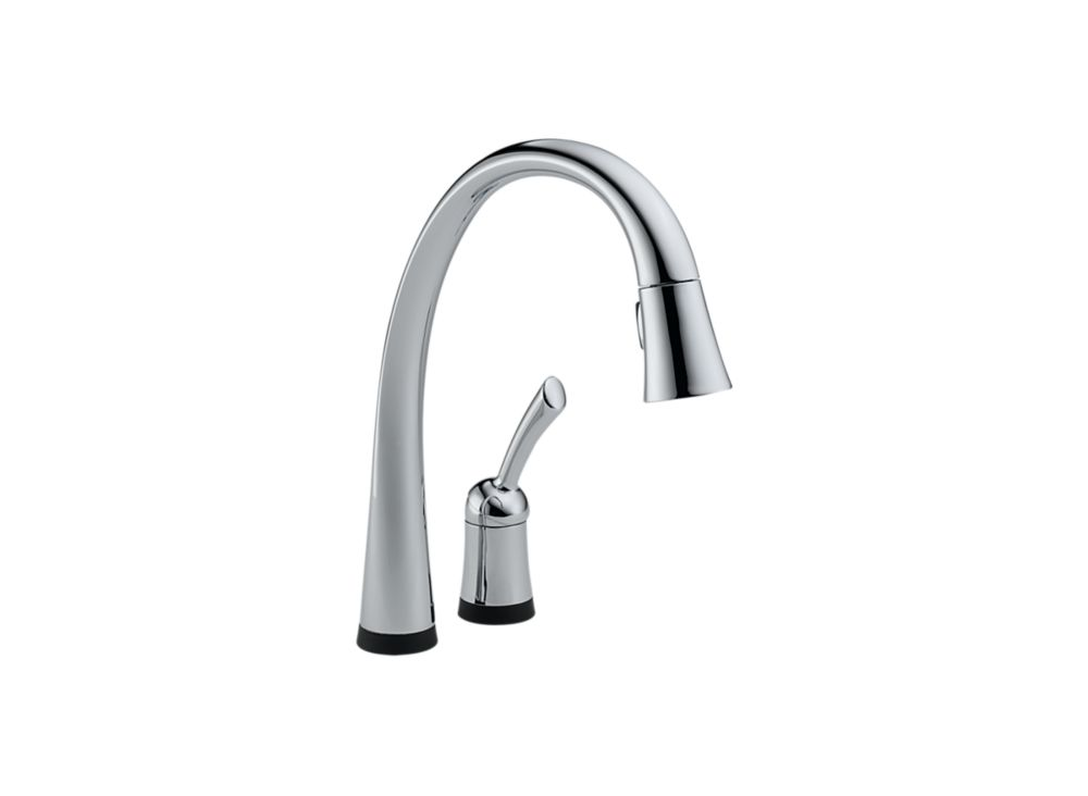 Pilar Pull-Down Kitchen Faucet - Chrome