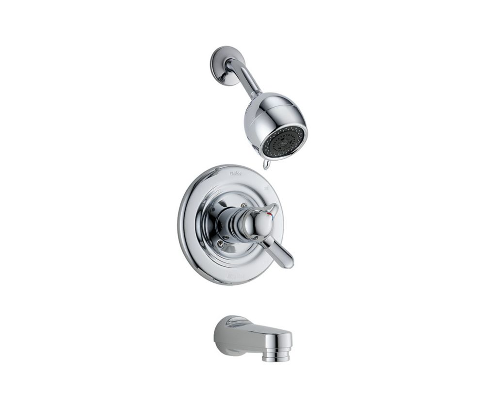 Delta Innovation 3-Spray Tub  Shower Faucet in Chrome