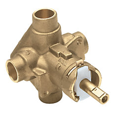 PosiTemp Pressure Balancing valve for Tub/Shower Trim