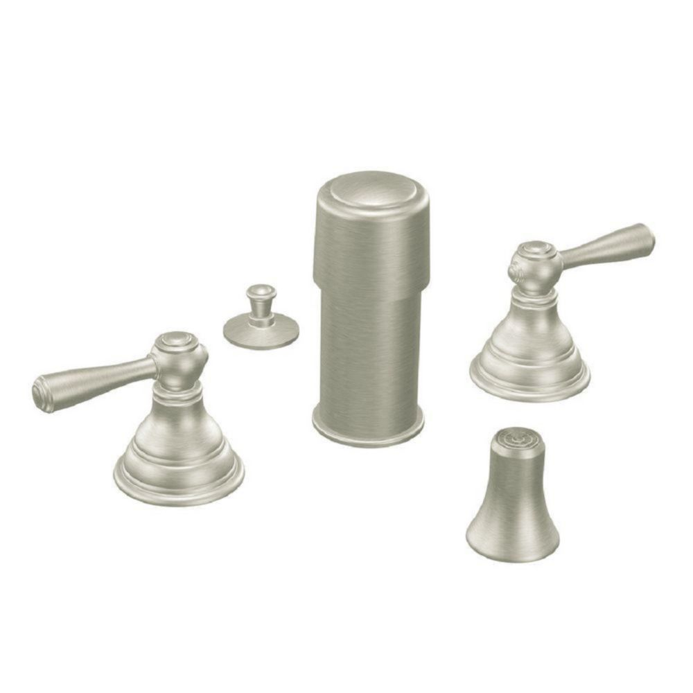 Kingsley Bidet Faucet Only in Brushed Nickel