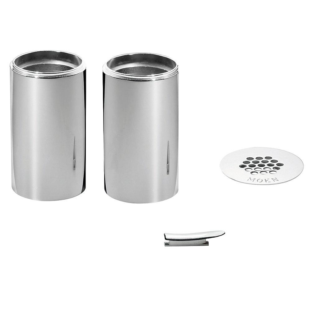 Kit d'extension de cuvette pour robinet de salle de bains Kingsley ( # 6102) - Fini chromé