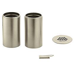 MOEN Vessel Extension Kit for Kingsley Bathroom Faucet ( # 6102BN) - Brushed Nickel Finish