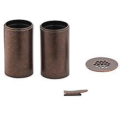 MOEN Kingsley Vessel Bathroom Faucet Extension Kit in Oil Rubbed Bronze Finish