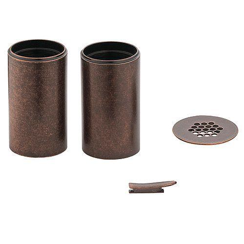 MOEN Trousse de rallonge pour robinet de lavabo de surface Kingsley (no 6102ORB) - fini bronze huilé