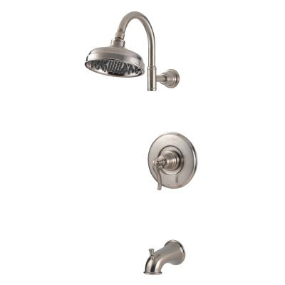 Ashfield Single-Handle Bath/Shower Faucet in Satin Nickel