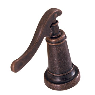 Ashfield Roman Bath Faucet Filler with Hub and Handles in Rustic Bronze Finish