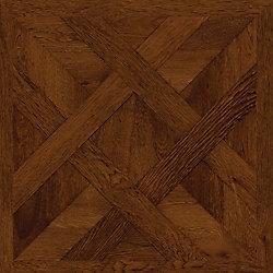 TrafficMASTER Chateau Parquet Dark 16-inch x 32-inch Luxury Vinyl Tile Flooring (21.3 sq. ft. / case)