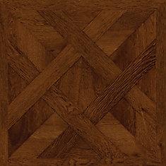 Chateau Parquet Dark 16-inch x 32-inch Luxury Vinyl Tile Flooring (21.3 sq. ft. / case)