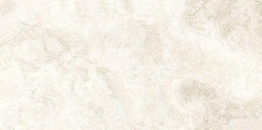 Travertin ivoire à finition mate et bouchée de 3 po × 6 po -( 5,5 pi. carré par caisse)