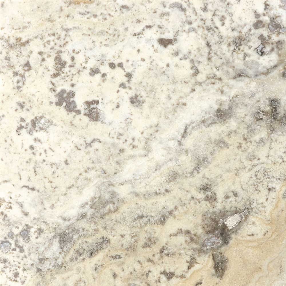 Filled & Honed Picasso Travertine - 6 Inches x 6 Inches -( 5.5 Sq. Ft./Case)