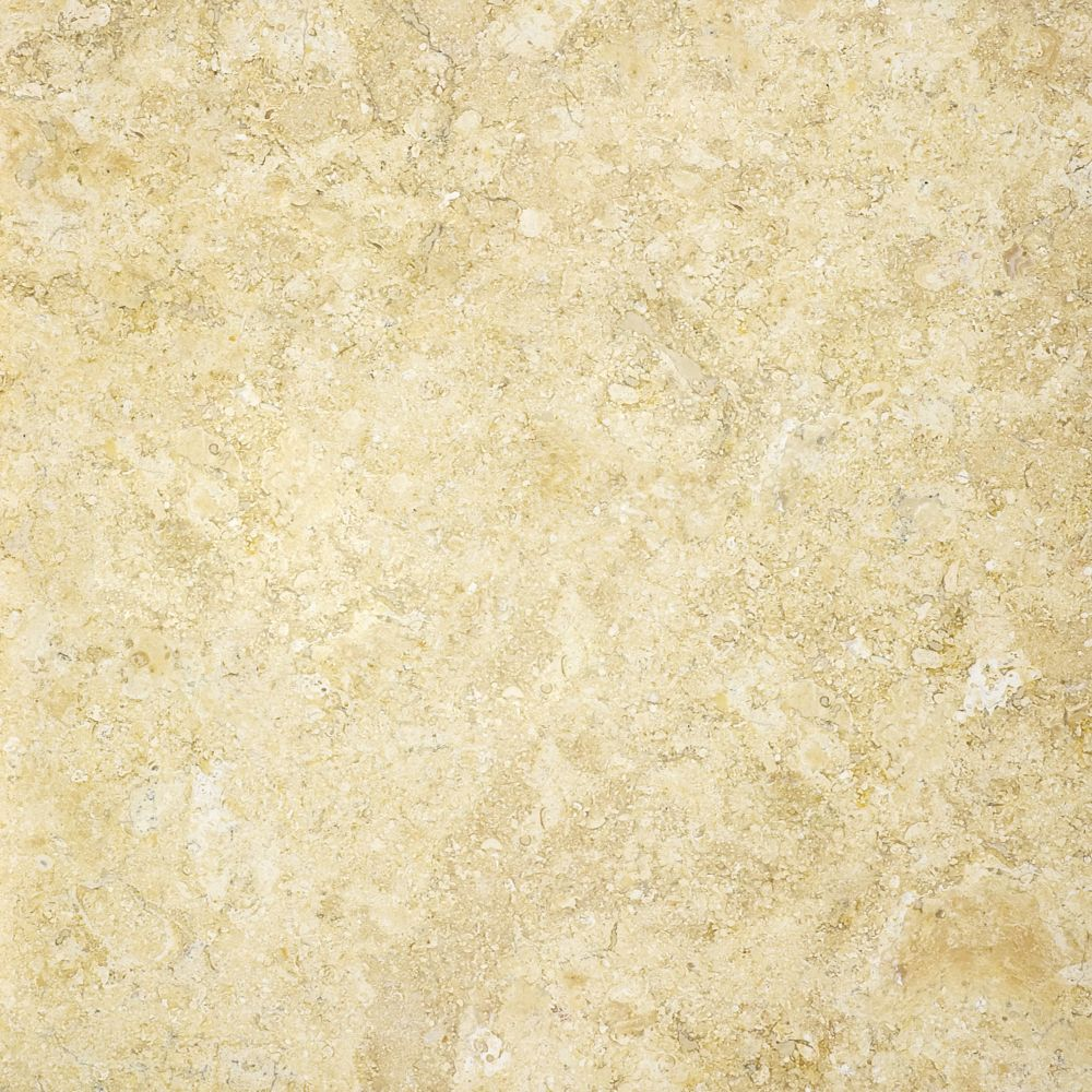 Honed Sahara Gold Limestone - 12 Inches x 12 Inches -( 10 Sq. Ft./Case)