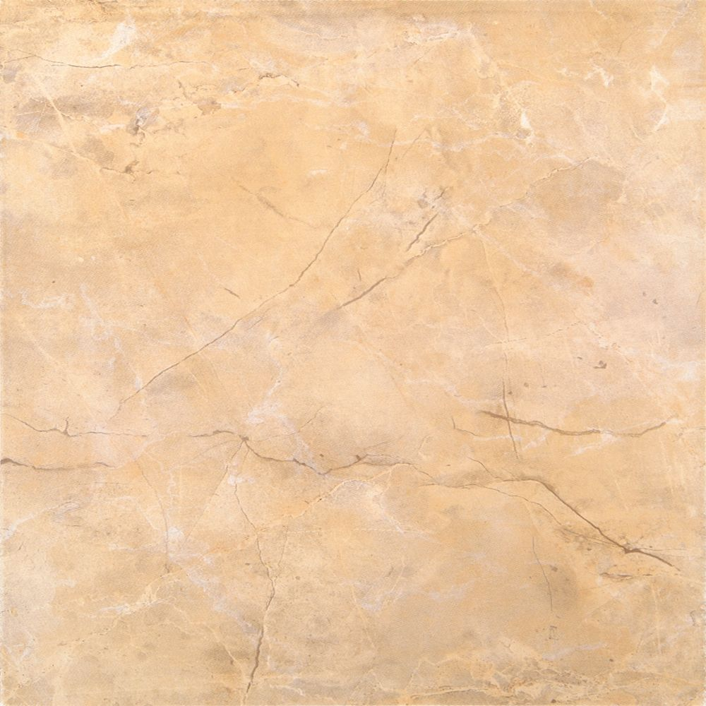 Assiria Marfim 13-inch x 13-inch Glazed Ceramic Floor and Wall Tile (11.30 sq. ft./ case)