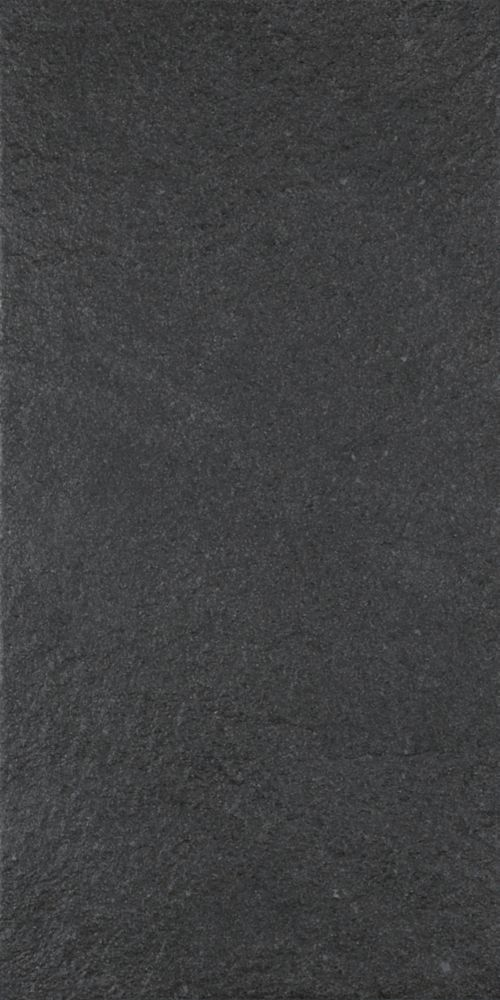 Ecostone Preto Natural 12 Inch x 24 Inch Porcelain Floor & Wall Tile  -( 11.52 Sq. Ft. / Case)