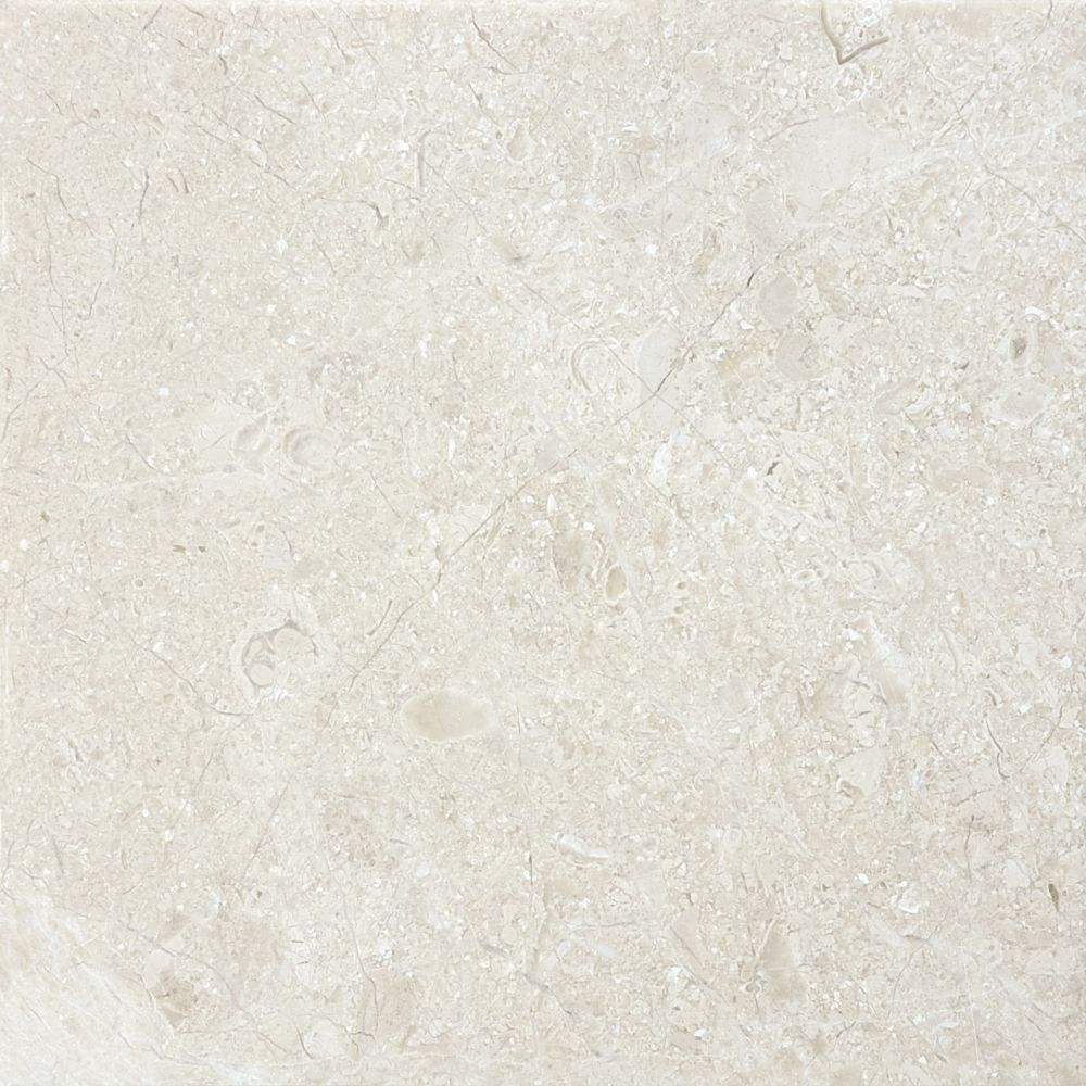 6-Inch x 6-Inch Honed Berkshire Crema Marble (5.5 sq. ft./case)
