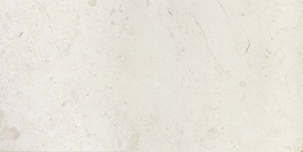 12-Inch x 24-Inch Honed Berkshire Crema Marble (8 sq. ft./case)