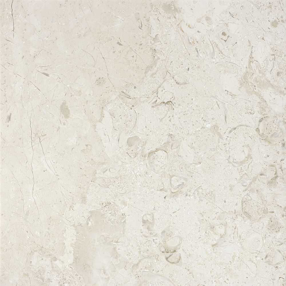 12-Inch x 12-Inch Polished Berkshire Crema Marble (10 sq. ft./case)