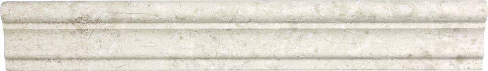 Cimaises de protection Berkshire Crema Aspendos polies de 2po × 12po