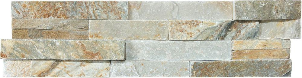 6-Inch x 24-Inch Beachwalk Ledger Corner Stone Tile
